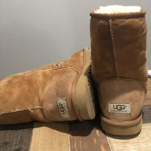 Warm winter UGG boots